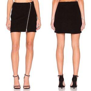 NWT Joie Tyree Boiled Wool Mini Skirt 16-0495